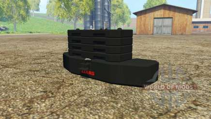 Weight CLAAS for Farming Simulator 2015