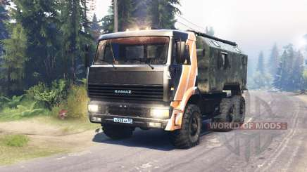 KamAZ 6522 for Spin Tires