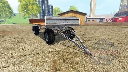 Fortschritt HW 80 bale trailer for Farming Simulator 2015