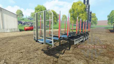 Timber semitrailer autoload Fliegl for Farming Simulator 2015