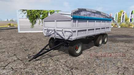 Fortschritt tipper trailer v1.1 for Farming Simulator 2013