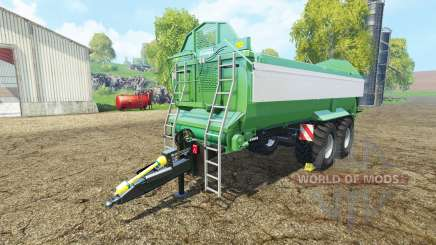 Krampe Bandit 750 green for Farming Simulator 2015