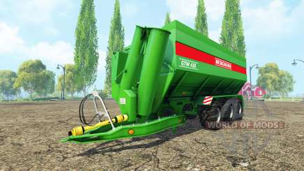 BERGMANN GTW 430 v4.2 for Farming Simulator 2015