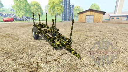 Small Wooden Trailer for Farming Simulator 2015