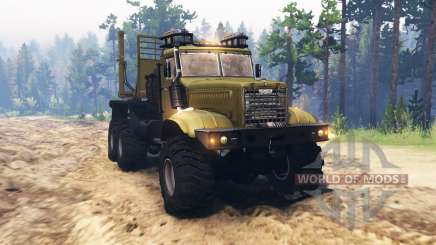 KrAZ 255 mix for Spin Tires