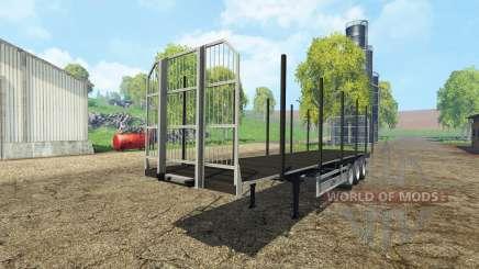 Fliegl universal semitrailer autoload v1.4 for Farming Simulator 2015