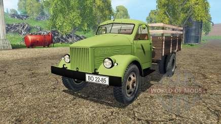 GAZ 51 for Farming Simulator 2015