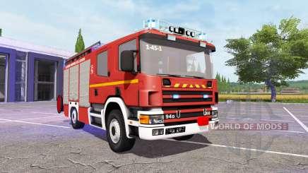 Scania 94D 260 Feuerwehr v1.1 for Farming Simulator 2017