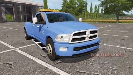 Dodge Ram 3500 v1.2 for Farming Simulator 2017