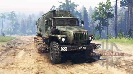 Ural 4320 Swamp for Spin Tires