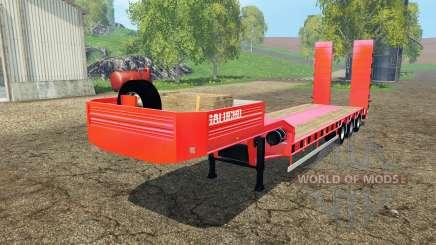 Semitrailer Galucho for Farming Simulator 2015
