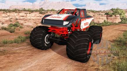 CRD Monster Truck v1.05 for BeamNG Drive