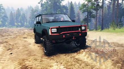 Jeep Cherokee 1994 for Spin Tires