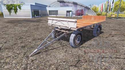 Fortschritt HW 80.11 bale trailer for Farming Simulator 2013