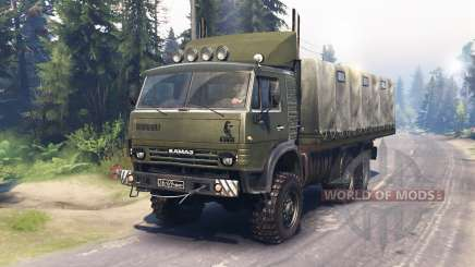 KamAZ 4310 Watch v1.1 for Spin Tires