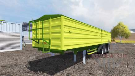 Fliegl tipper semitrailer for Farming Simulator 2013
