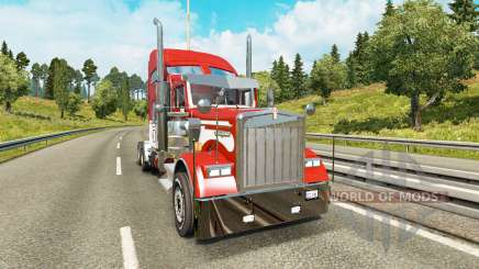 Kenworth W900 v2.0 for Euro Truck Simulator 2