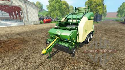 Krone Ultima CF 155 (XC) black wrap for Farming Simulator 2015