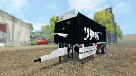 Fliegl ASW 268 black pantera edition v1.1 for Farming Simulator 2015