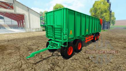 Aguas-Tenias tipper trailer for Farming Simulator 2015
