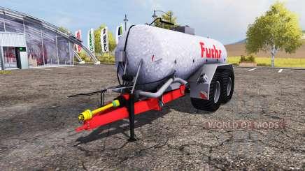 Fuchs liquid manure tank for Farming Simulator 2013