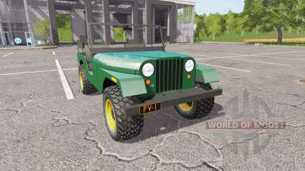 Jeep CJ-5 1972 for Farming Simulator 2017