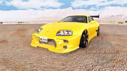 Toyota Supra v1.1 for BeamNG Drive