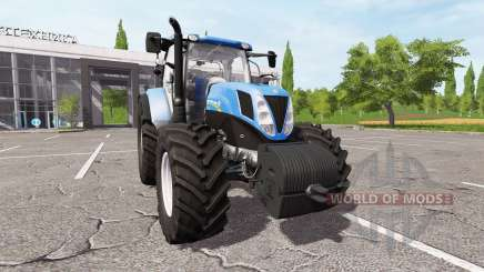 New Holland T7.200 v1.1 for Farming Simulator 2017