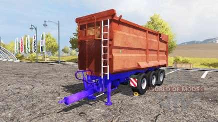 POTTINGER tipper trailer for Farming Simulator 2013