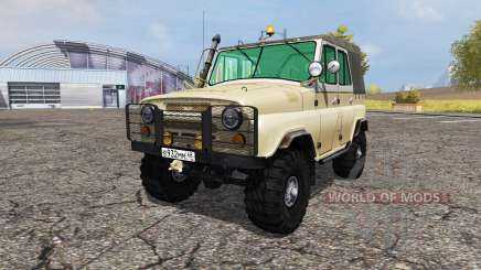UAZ 469Б v3.0 for Farming Simulator 2013