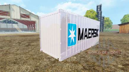 Container 20ft Maersk for Farming Simulator 2015