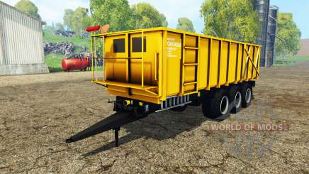 Ponthieux P24A yellow for Farming Simulator 2015