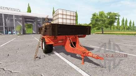 Service trailer for Farming Simulator 2017