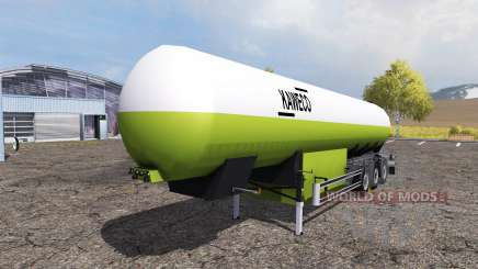 Kaweco tank manure v2.0 for Farming Simulator 2013