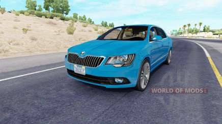 Skoda Superb v2.2 for American Truck Simulator