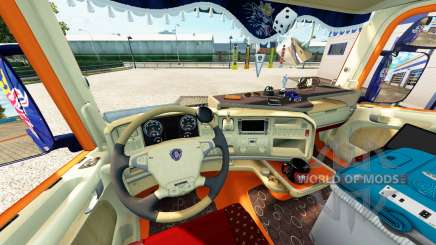 Interior for Scania truck for Euro Truck Simulator 2