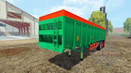 Aguas-Tenias manure spreader for Farming Simulator 2015