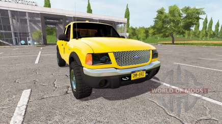 Ford Ranger for Farming Simulator 2017