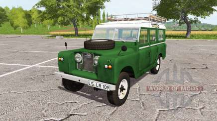 Land Rover Series IIa Station Wagon 1965 for Farming Simulator 2017