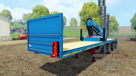 Royen semitrailer for Farming Simulator 2015