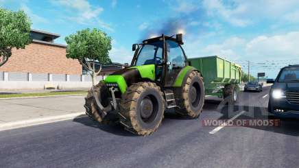 John Deere in traffic for American Truck Simulator