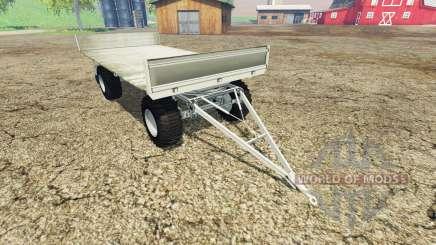 Fortschritt HW 80 bale trailer v1.1 for Farming Simulator 2015