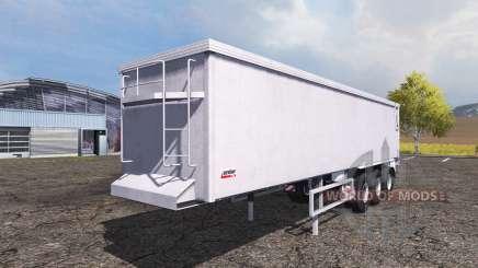 Kroger Agroliner SRB3-35 manure spreader for Farming Simulator 2013