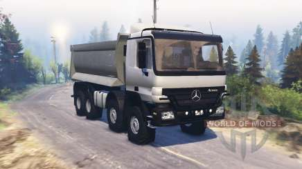 Mercedes-Benz Actros (MP2) 8x8 v1.1 for Spin Tires