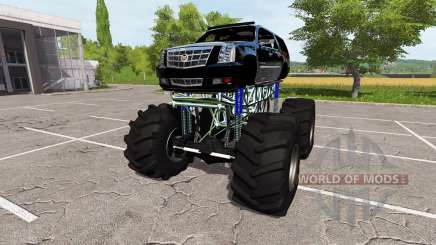 Cadillac Escalade lifted for Farming Simulator 2017