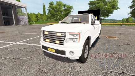 Lizard Pickup TT traffic advisor v1.1 for Farming Simulator 2017
