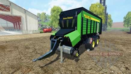 Forage trailer John Deere for Farming Simulator 2015