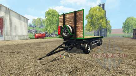 Bale trailer v1.1 for Farming Simulator 2015