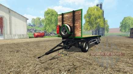 Bale trailer v1.1 for Farming Simulator 2015