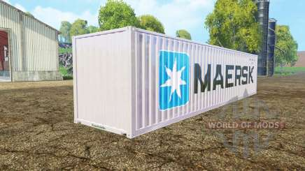 Container 40ft Maersk for Farming Simulator 2015